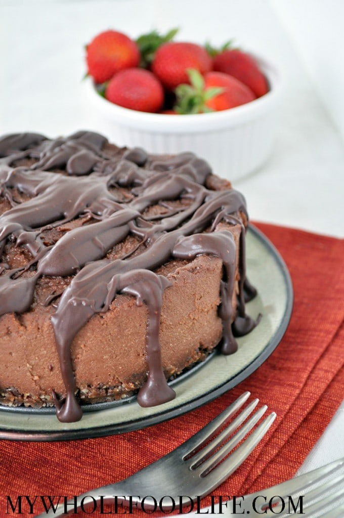 chocolate coffee cheesecake