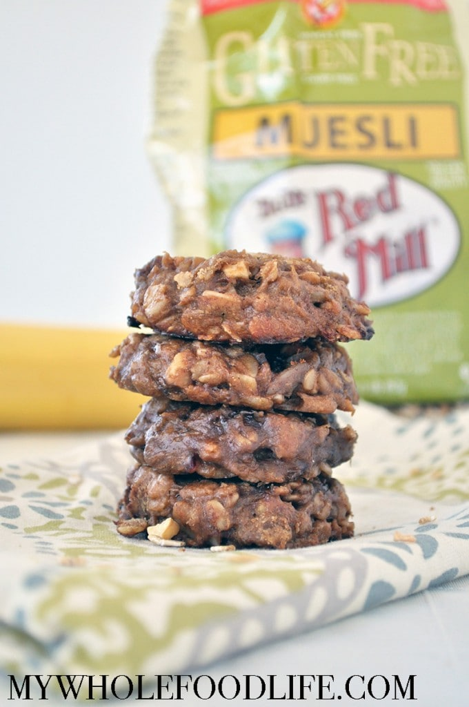Muesli Breakfast Cookies - My Whole Food Life