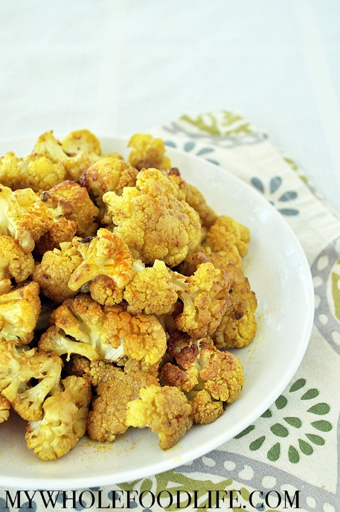 coconut curry cauliflower