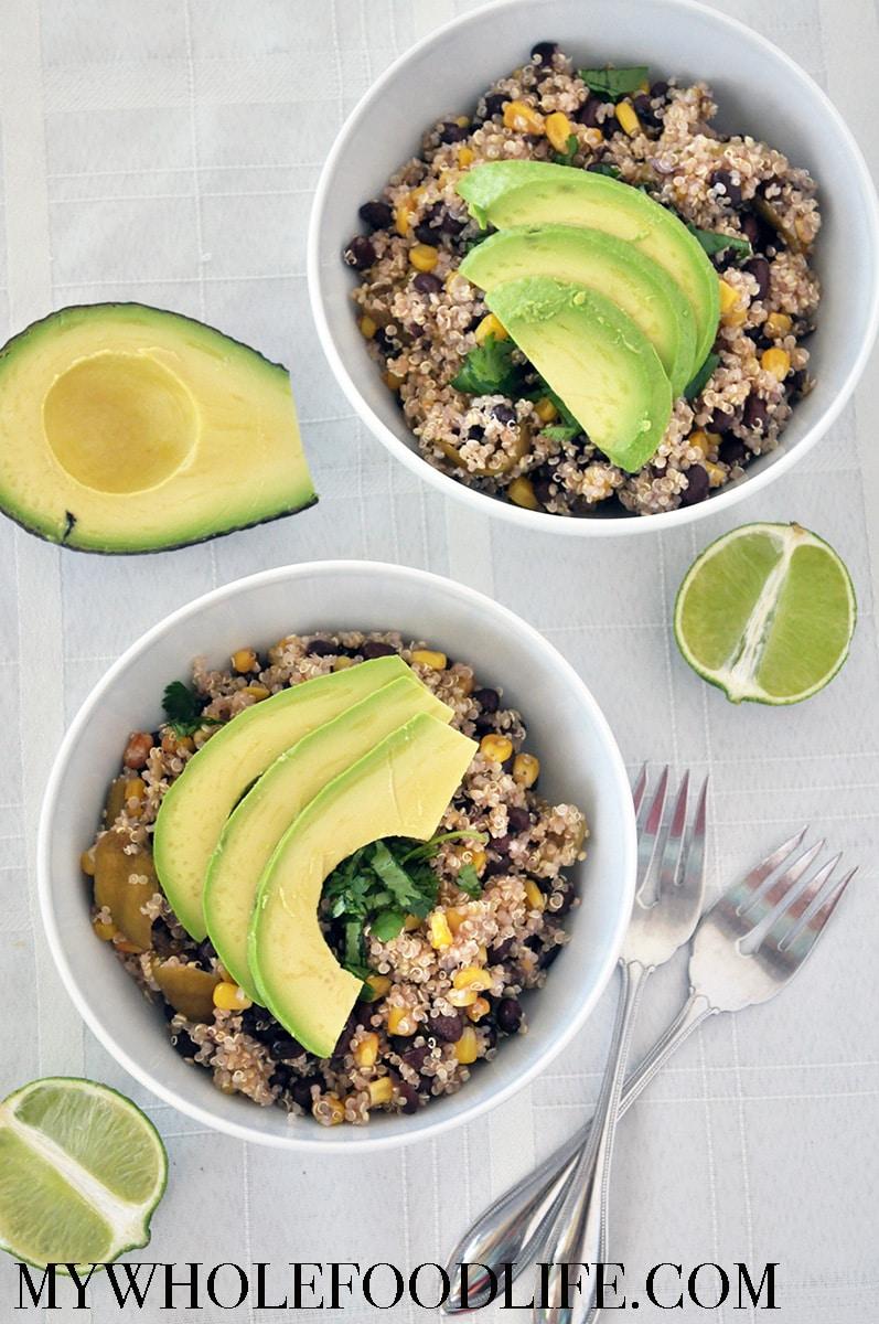 Easy Meican Quinoa