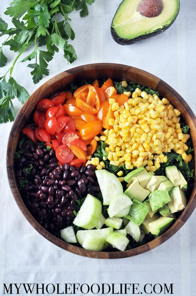 Kale Summer Salad - My Whole Food Life