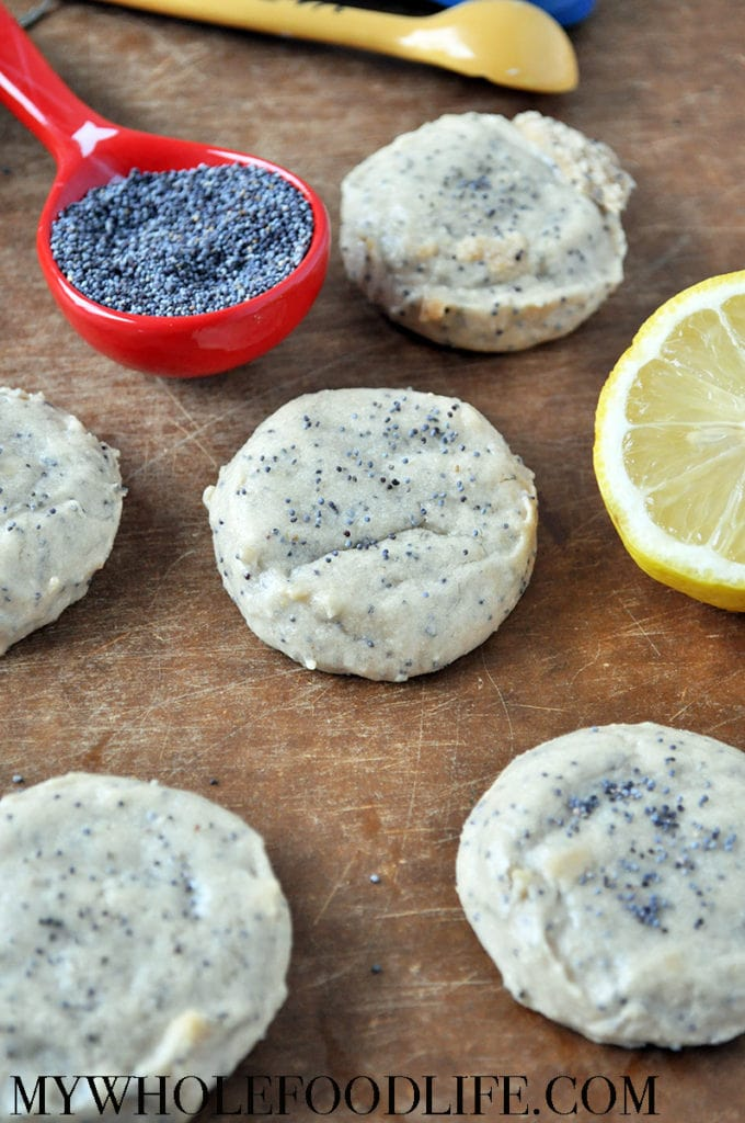 Lemon Poppy Seed Cookies - My Whole Food Life