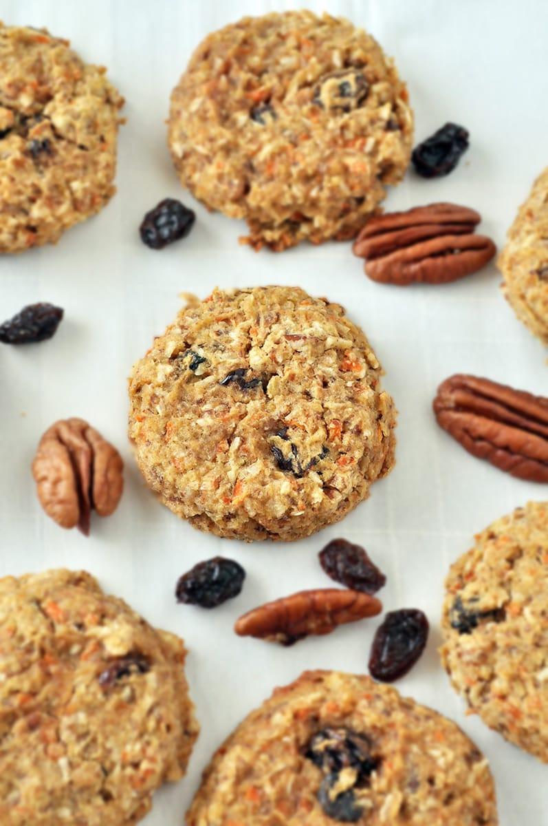 morning glory breakfast cookies