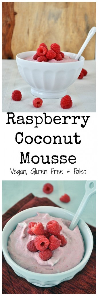 Raspberry Coconut Mousse P