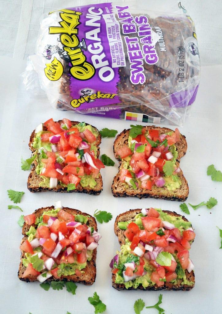Southwestern Avocado Toast 2