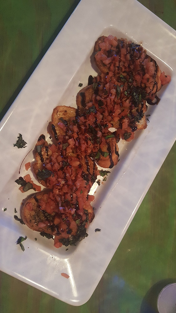 Mellow Mushroom Bruschetta