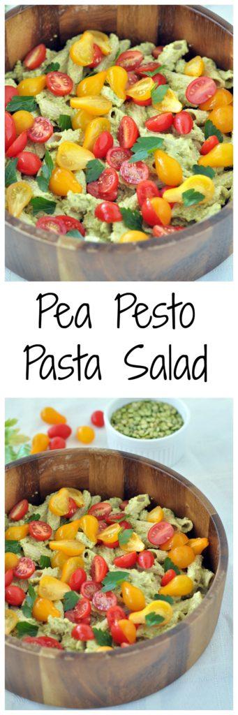 Pea Pesto Pasta Salad P