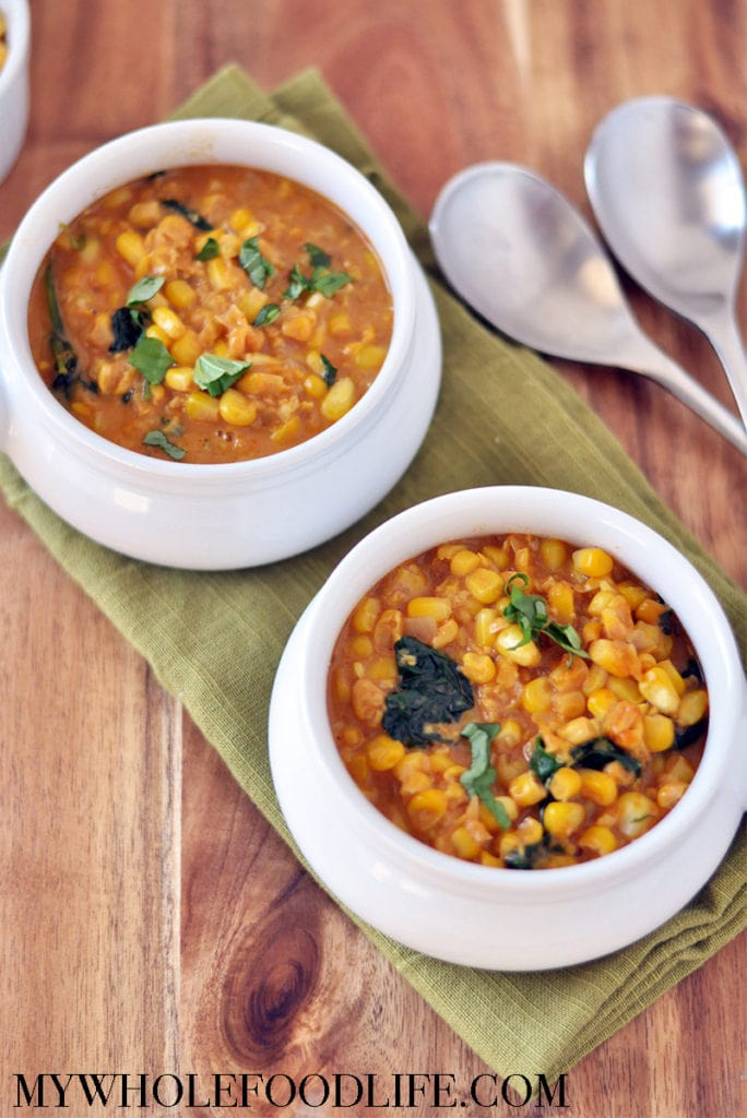 Smoky Corn Chowder 2 - My Whole Food Life