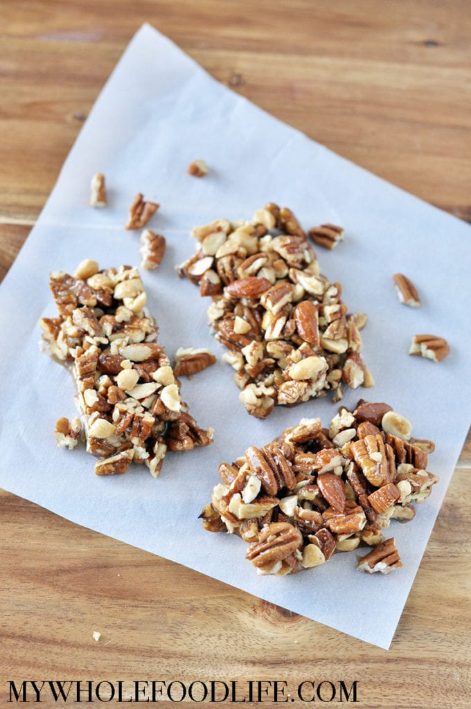 maple pecan sea salt KIND bars