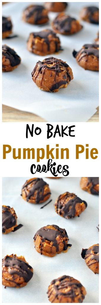 Pumpkin Chocolate Cookies P