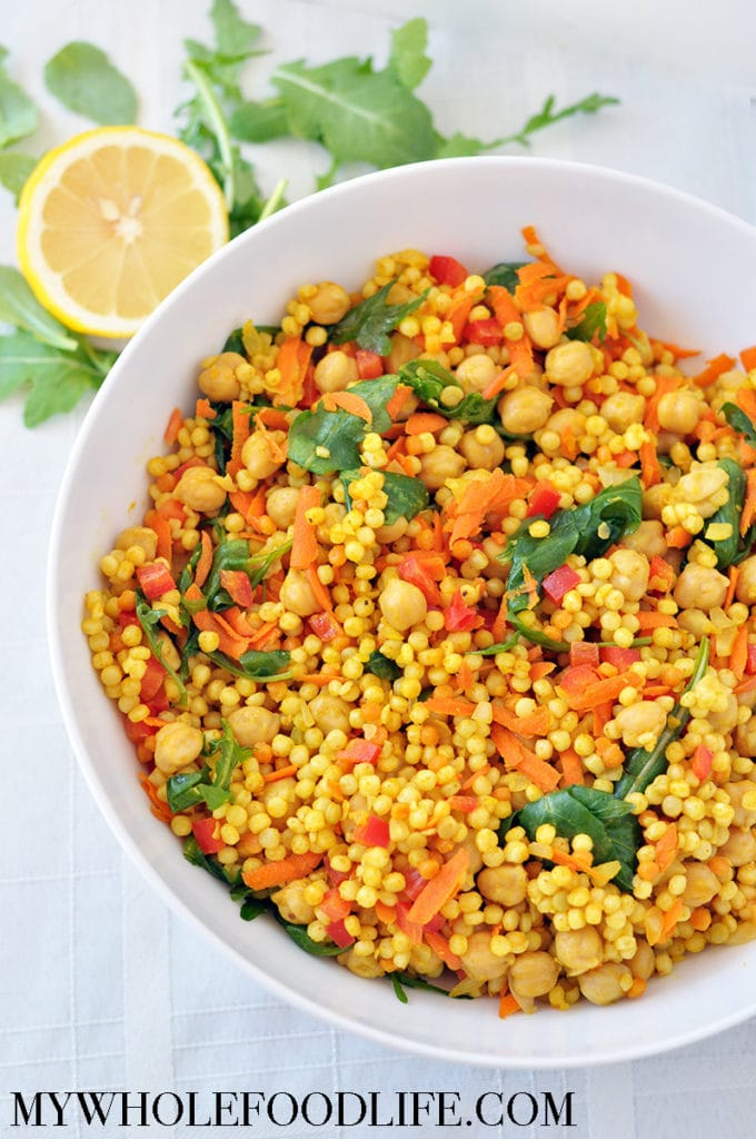 curry chickpea cous cous