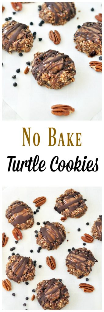 no bake turtle cookies