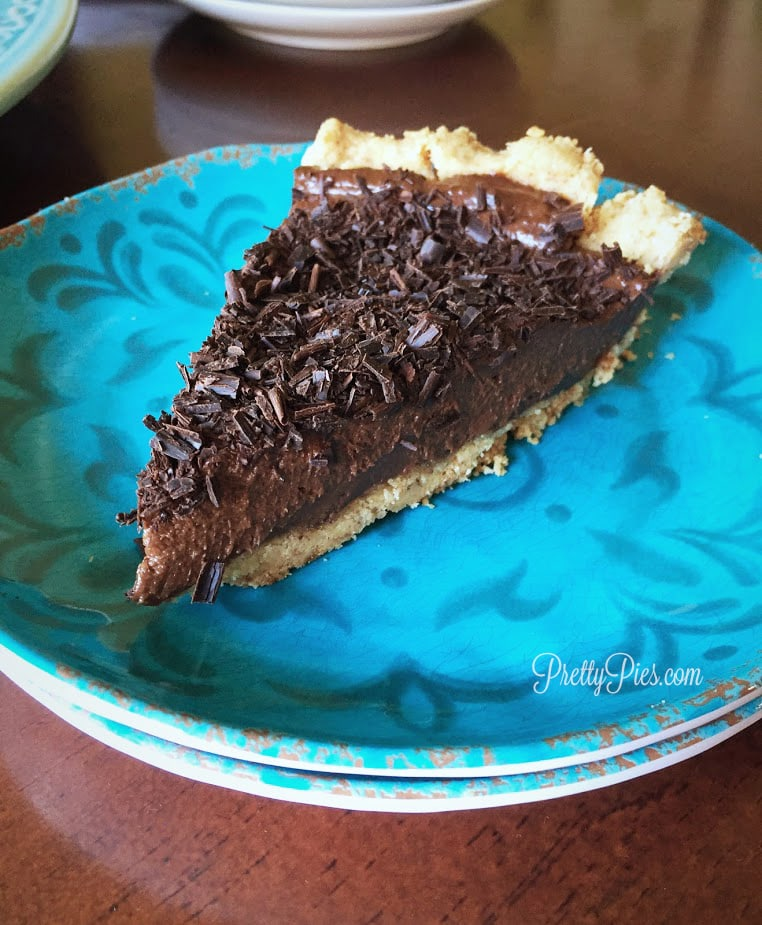 secret ingredient chocolate silk pie