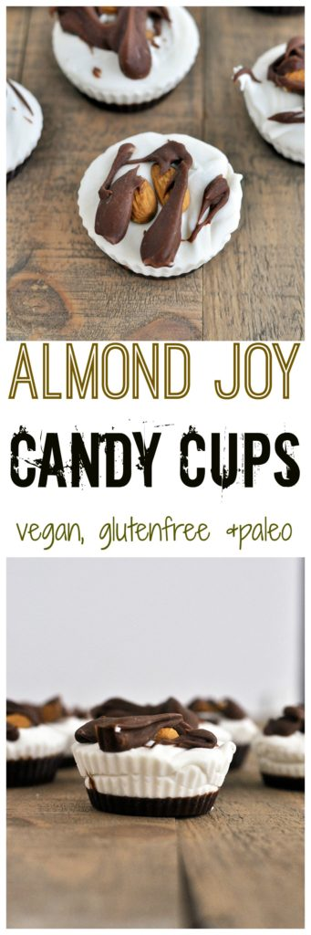 almond joy candy cups
