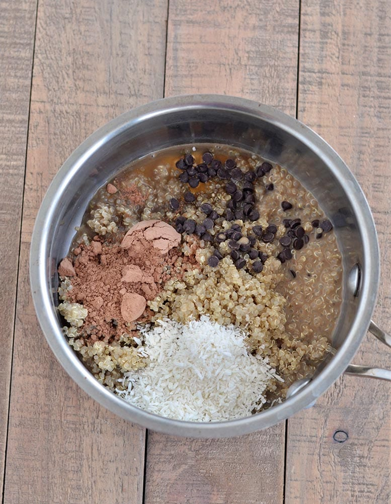 Warm Mocha Breakfast Quinoa 2