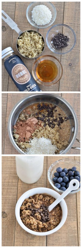 Warm Mocha Breakfast Quinoa P