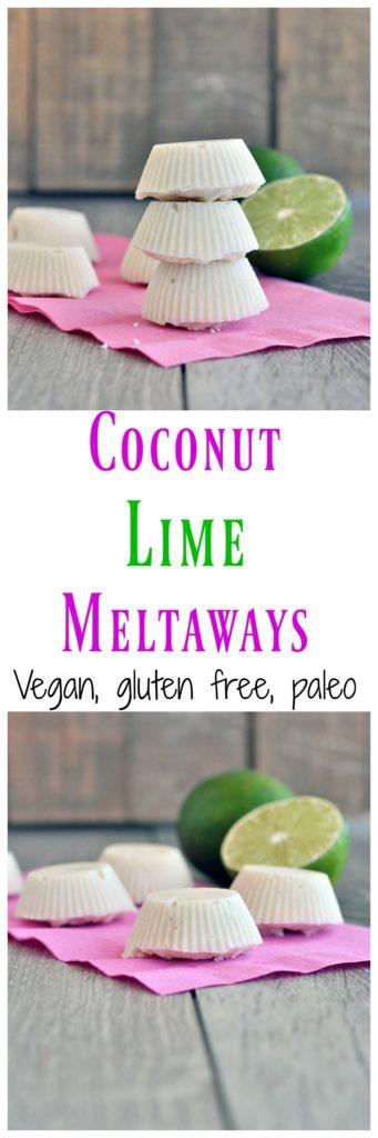 coconut lime meltaways