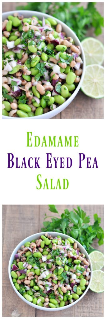Edamame Black Eyed Pea Citrus Salad