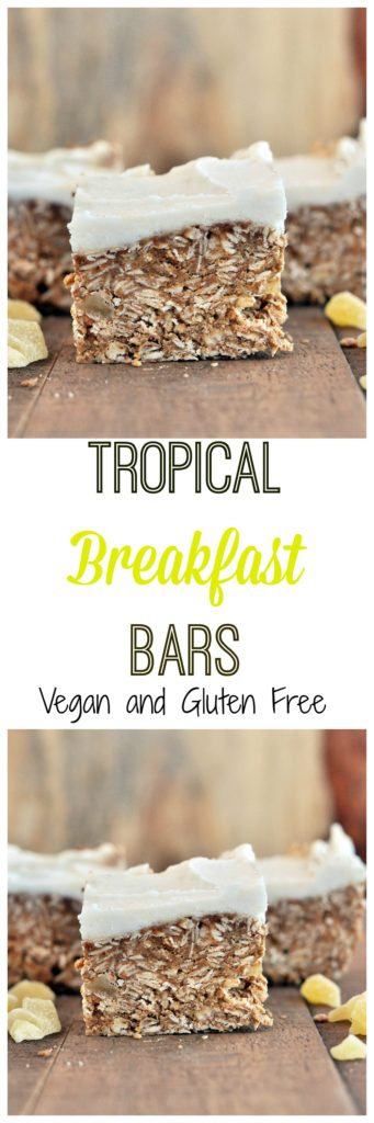 Healthy Tropical Breakfast Bars