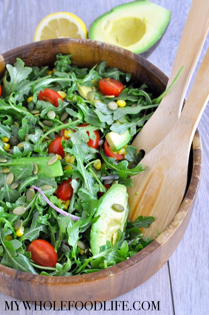 Corn Arugula Salad Whole Foods Recipe