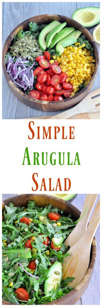 Simple Arugula Salad