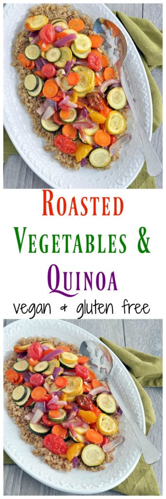 Roasted Vegetables with Quinoa