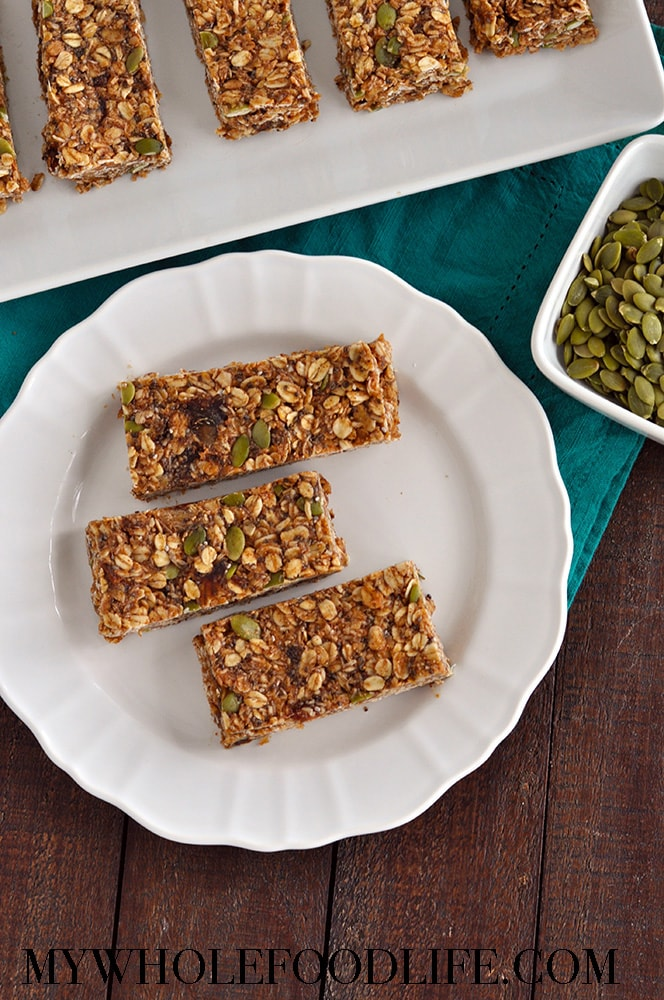No Bake Super Food Granola Bars