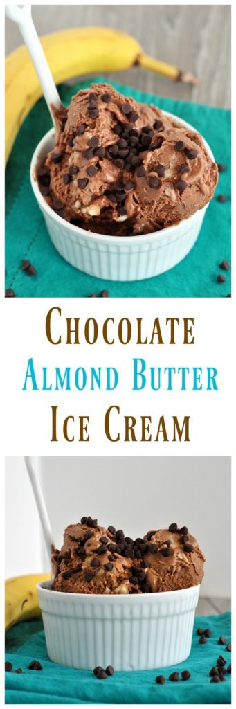 chocolate almond butter ice cream
