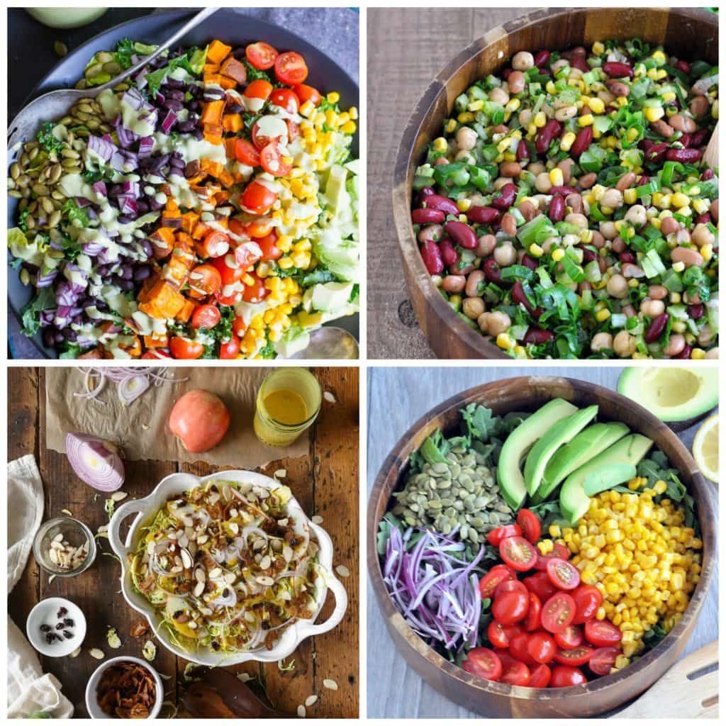 25 healthy vegan salad recipes my whole food life they are super easy to make and most require no cooking i have put together a collection of healthy salad recipes from myself and also from around the web forumfinder Gallery