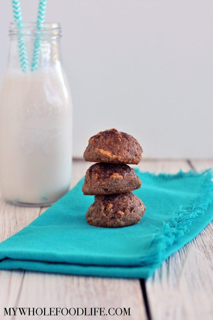 Flourless Snickerdoodles (Vegan, Gluten Free, Paleo)