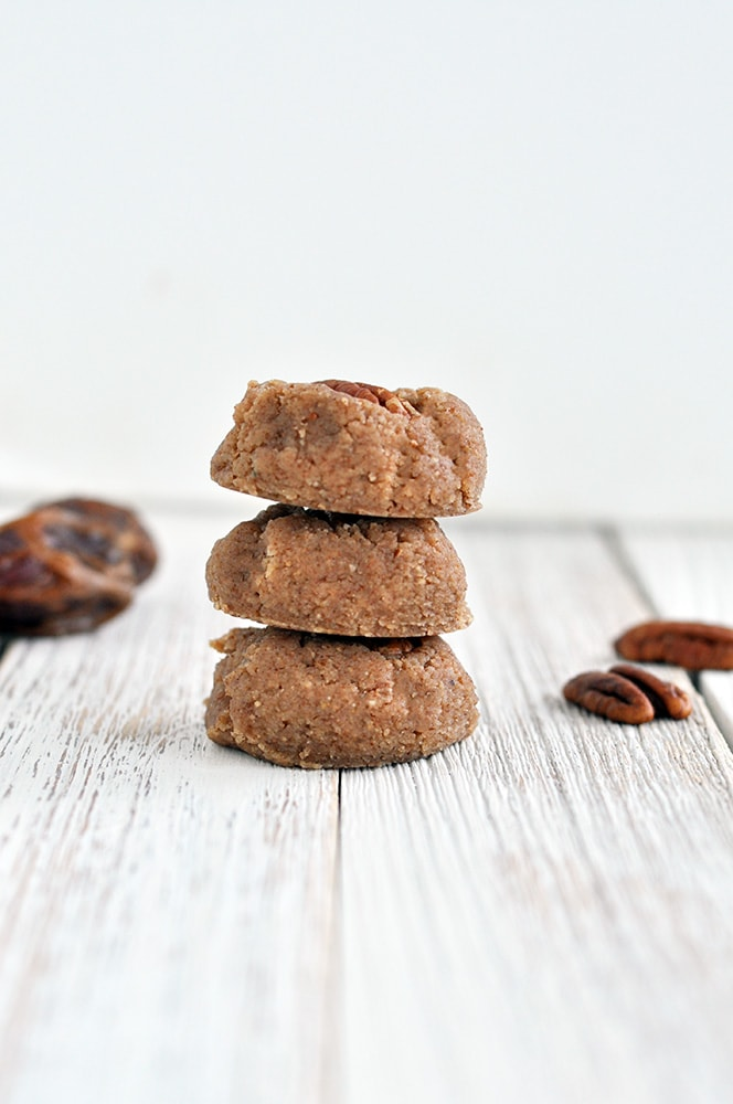 No Bake Pecan Pie Cookies
