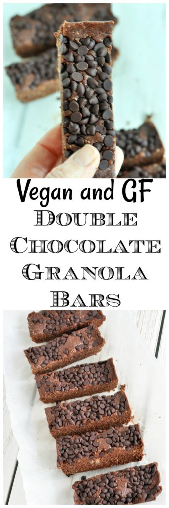 Double Chocolate Granola Bars