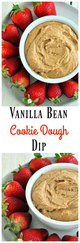 Vanilla Bean Cookie Dough Dip