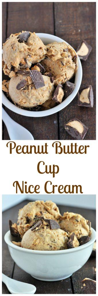 Peanut Butter Cup Nice Cream