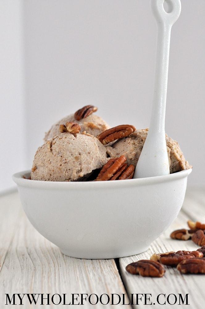 Pecan Caramel Nice Cream