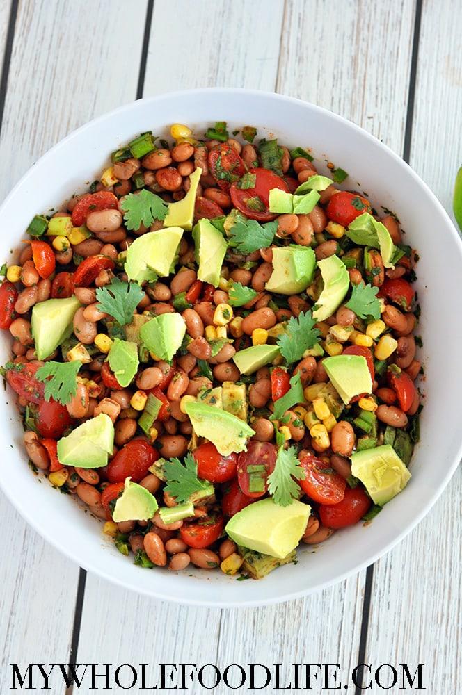 Healthy Pinto Bean Salad