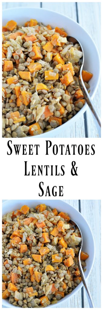 Sweet Potatoes Lentils Sage